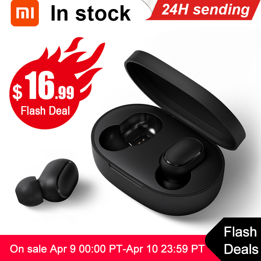 Xiaomi Wireless Earphone Earbuds Ai-Control Handsfree Airdots-Tws Bluetooth 5.0 Original