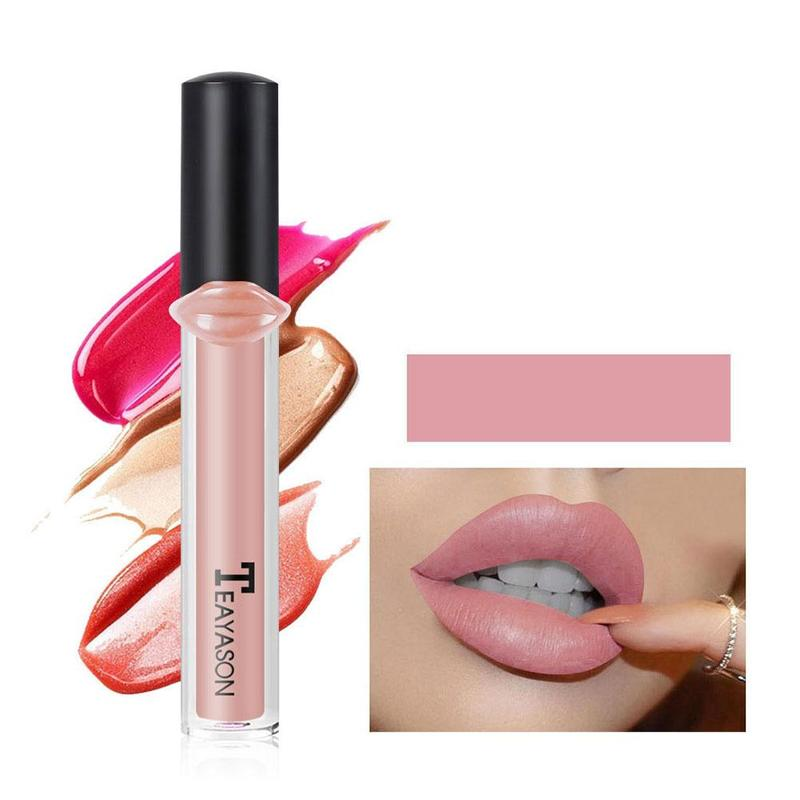 Makeup Matte Lipstick Waterproof Long-lasting Lipstick Rose Lady Nude Red Princess Lipstick Easy To Color Make Up