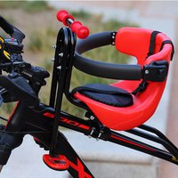 Mountain Bike Front Child Bike Seat Children Baby Front Mounted Seat Mat Bicycle Safety Chair Seat Saddle Carrier Accessories