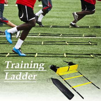 new 10m folding soft ladder fire rescue equipment escape ladder life saving ladder aluminum alloy wire rope ladder for climbing Agility Speed Jump ladder Soccer Agility Outdoor Training Football For Fitness Soccer Football Speed Ladder Equipment