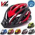 Шлем victgoal для велосипеда  светодиодные козырьки для мужчин и женщин  дышащий сверхлегкий спортивный велосипедный шлем  MTB  горный  дорожный ...