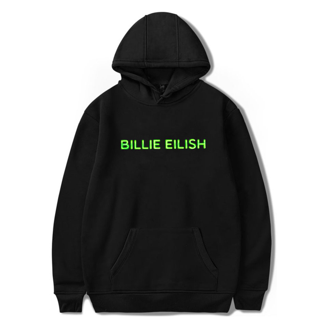BILLIE EILISH THEMED HOODIE