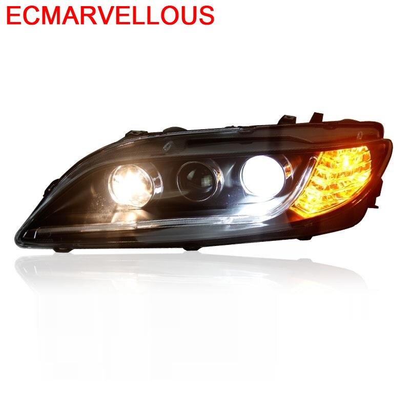 Accessoires Automobiles lampe de style en cours d'exécution Neblineros pièces Luces Led Para Auto phares voiture lumières assemblée pour Mazda 6