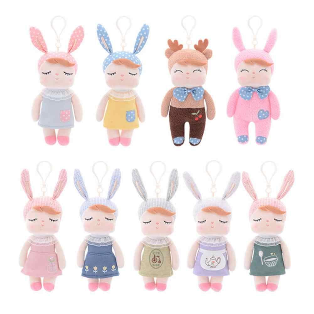 18 см милая девочка кролик животное плюшевая кукла игрушка автомобиль брелок подвеска брелок Декор мягкая детская игрушка Анжела