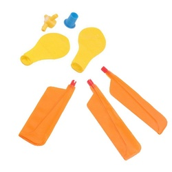 5 sztuk/zestaw dla dzieci balon helikopter zabawka latająca dziecko urodziny Xmas torebka imprezowa obsady wypełniacz prezent plaża zabawka latająca