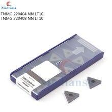 TNMG220404 TNMG220408 NN LT10 High quality External Turning Tool CarbideTurning inserts For stainless steel CNC Lathe Tool
