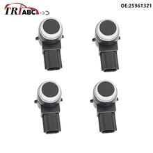 цена на 25961321 PDC Parking 4 Sensors For Chevrolet Volt Opel AMPERA E CADILLAC SRX 3.6 AWD VAUXHALL AMPERA R12 EV 150 Car accessory
