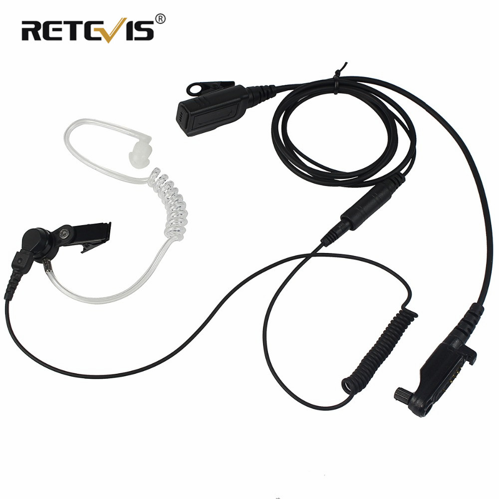 Radio Earpiece For Hytera HYT PD680/PD602/PD685/PD662 X1e X1p Two Way Radio Walkie Talkie C2294A