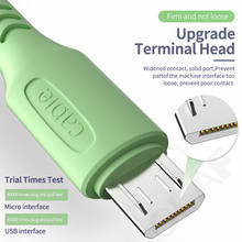 OLAF 3A Liquid Micro USB Cable Fast Charging For Xiaomi Redmi Note 5 Pro Android Mobile Phone Cable for Samsung S7 S6 USB Micro