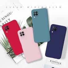 Soft Silicone Case For huawei p40 lite Case Candy Color TPU Back Cover For Hawei Coque Huawei Nova 6se Nova6 SE 5G Cover Etui