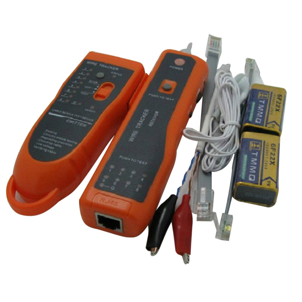 LAN Cable RJ45 and RJ11 Network Cable Tester Wire Tracker Line Finder Scanning Device Ethernet Cables