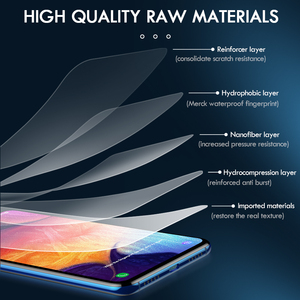 "Image 2 - 1 3pcs readmi c21 hydrogel film readmy c21 anti scratch screen protector film not glas for oppo realme c21 c 21 21c film 6.5"""