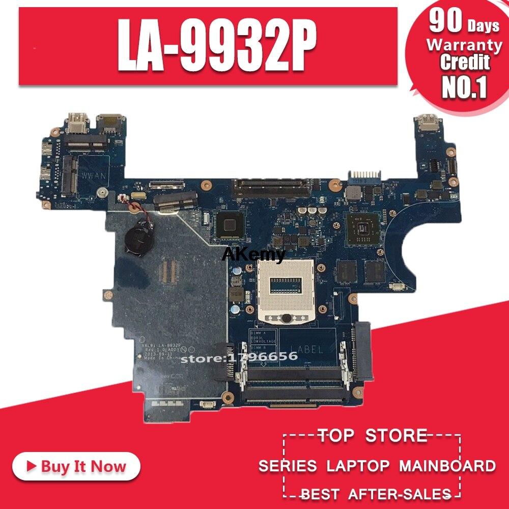 For Dell E6440 Laptop Motherboard CN-007KGN 007KGN 07KGN VAL91 LA-9932P Testing Fast Ship