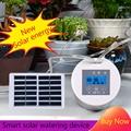 Cronometragem inteligente de energia solar dispositivo rega automática casa sistema irrigação por gotejamento kit rega para vasos flor planta