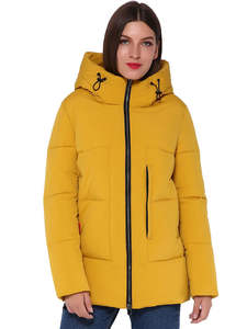 AORRYVLA Womens Winter Jackets Hooded Female Warm Casual Fashion Solid Short for AO1936