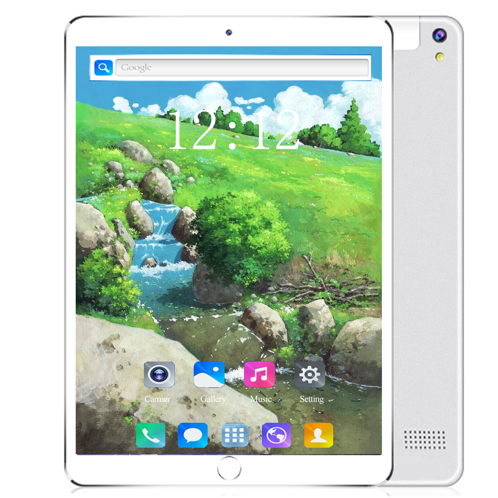 128GB 2020 New Octa Core 10 Inch Tablet PC 6GB RAM + 128GB ROM 8 Cores Android 8.0 3G 4G LTE Tablets 10.1 IPS HD Screen Glass