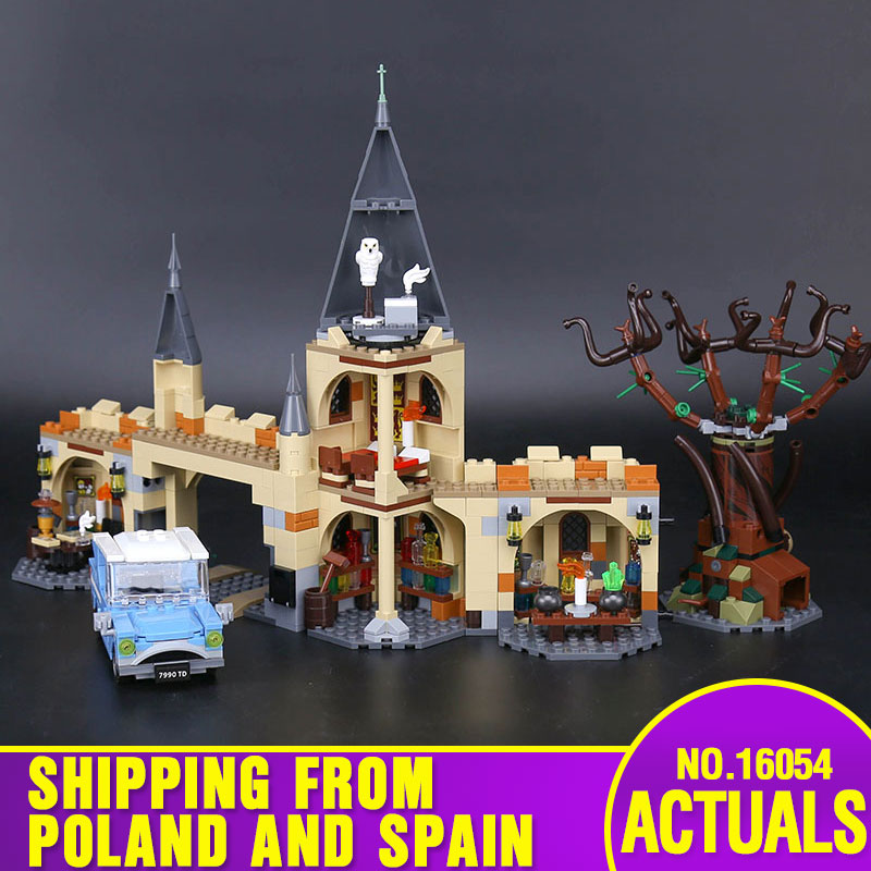 16054 Movie Toys The Lepining 75953 Magic Whomping Willow Set Building Blocks Bricks Assembly Kids Toys Christmas Gifts Model