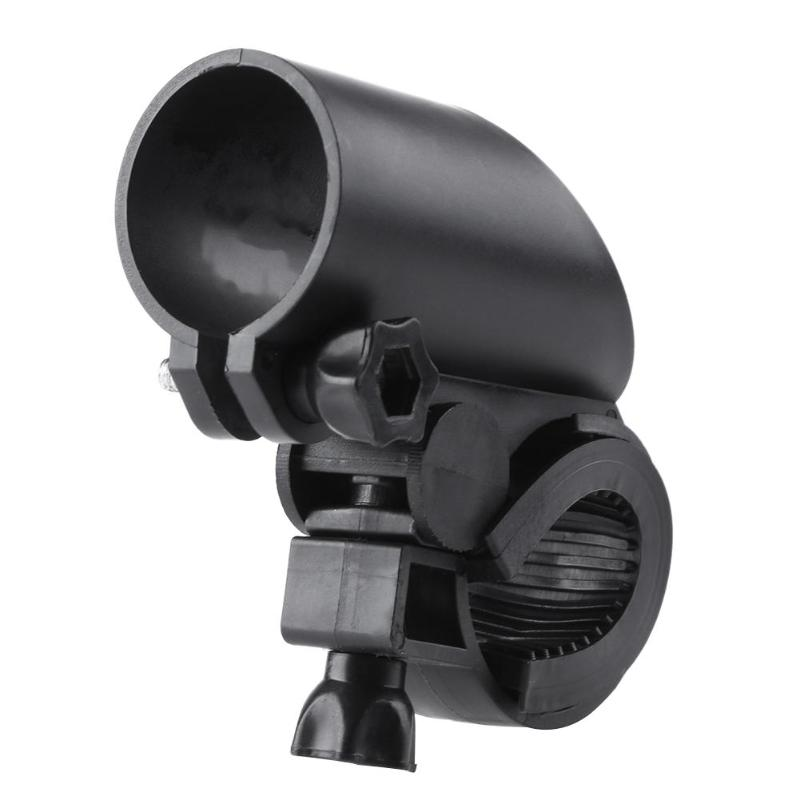 Portable Bicycle Bike Front <font><b>Flashlight</b></font> Torch Clip <font><b>Mount</b></font> Holder Accessories image