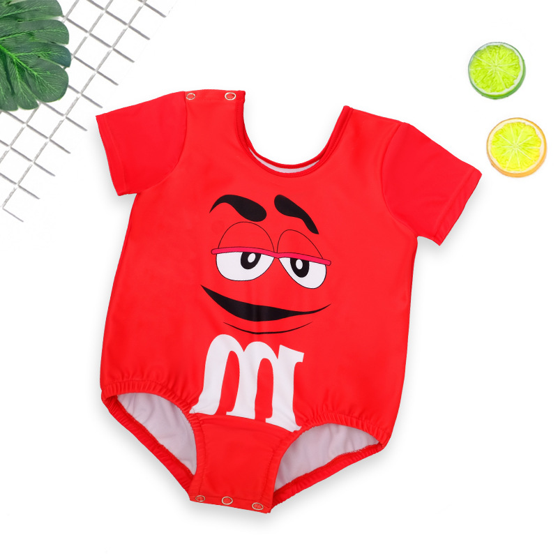 Baby Swimsuit Baby Children BOY'S One-piece Boy Kids Swimwear Swimming Trunks Cute Small Children Tour Bathing Suit