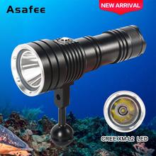 1000LM New Led professional scuba diving Flashlight 1 x L2 LED Waterproof Flashlight 30 to 50M Waterproof LED TORCH Light new 6000lm 4x xml l2 led scuba diving flashlight torch lamp waterproof 100m