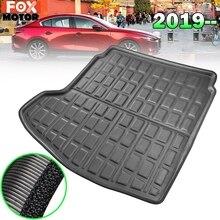 Индивидуальные загрузки грузового лайнера для Mazda 3 BP седан задний багажник пол коврик лоток ковер
