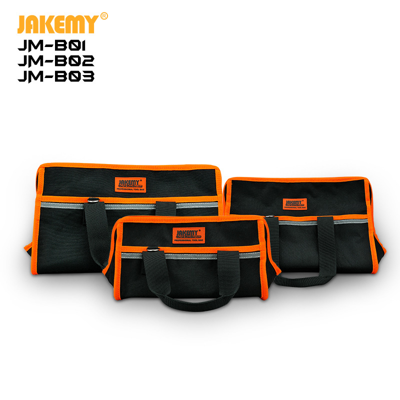JAKEMY New 2019 Multifunction Tool Bags 600d Oxford Cloth Portable Electrician Bag Thicken Work Pocket
