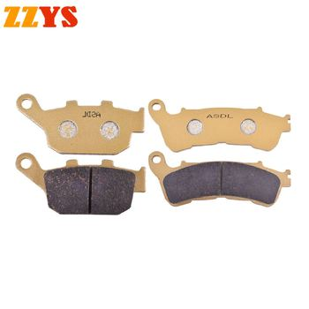 Motorcycle Front and Rear Brake Pads For Honda CBR 250 CBR250 RAB RAC 11-13 NC 700 NC700 SC SD XC ABS Manual Gearbox 2012 2013 image
