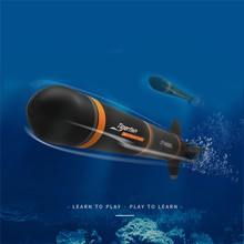 RC Submarine Model-Kits Boat Torpedo Electric Plastic Kids DIY Assembly Extracurricular-Toys