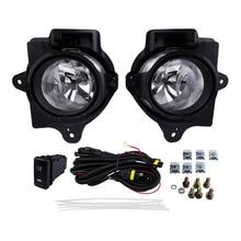 цена на Car Fog Lights Halogen Lamp for Toyota Hilux Vigo 2014 Yellow Halogen Bulb 4300K 12V 55W Super Bright Lamp Source Flashing Light