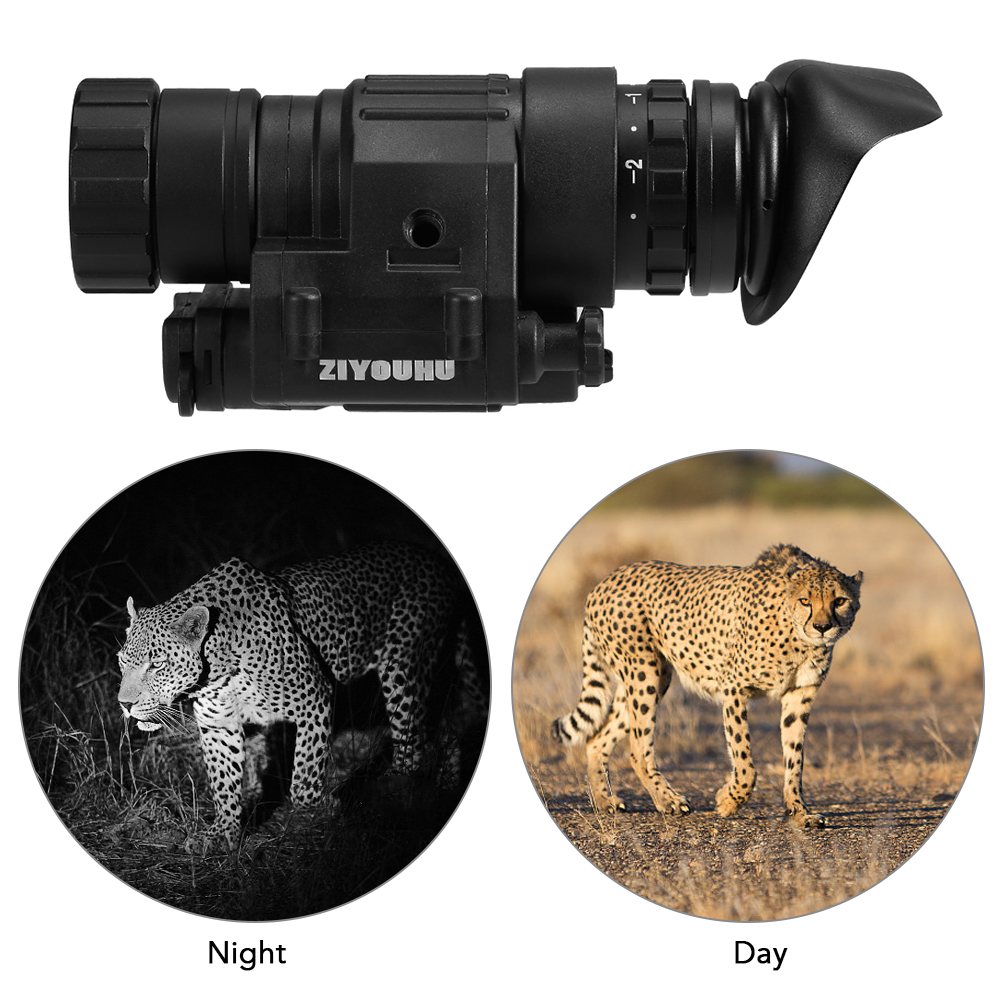 Tactical Digital Night Vision Monocular Scope for Hunting Compact Hunting Telescope Night Vision Device Camping Animal Watching|Night Visions| |  - title=