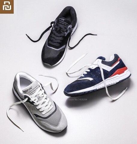 Homens de Couro Confortável e Respirável Pele de Porco Nova Moda Genuínos Retro Sapatos Casuais Sneakers 90