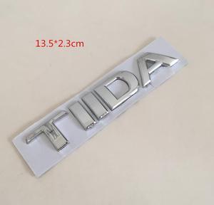 1 шт. TIIDA 3D ABS Автомобильные буквы задние наклейки на багажник эмблема значок наклейка для автомобиля Стайлинг авто аксессуары|Наклейки на автомобиль|   | АлиЭкспресс
