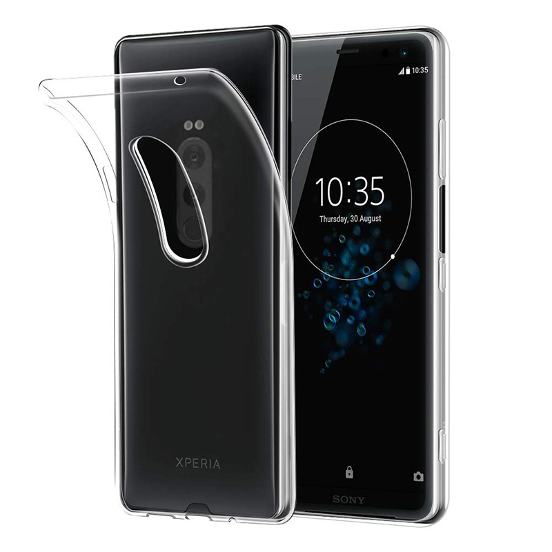 2019 Transparent Silicone <font><b>Case</b></font> for Sony <font><b>Xperia</b></font> <font><b>1</b></font> XZ4 6.5