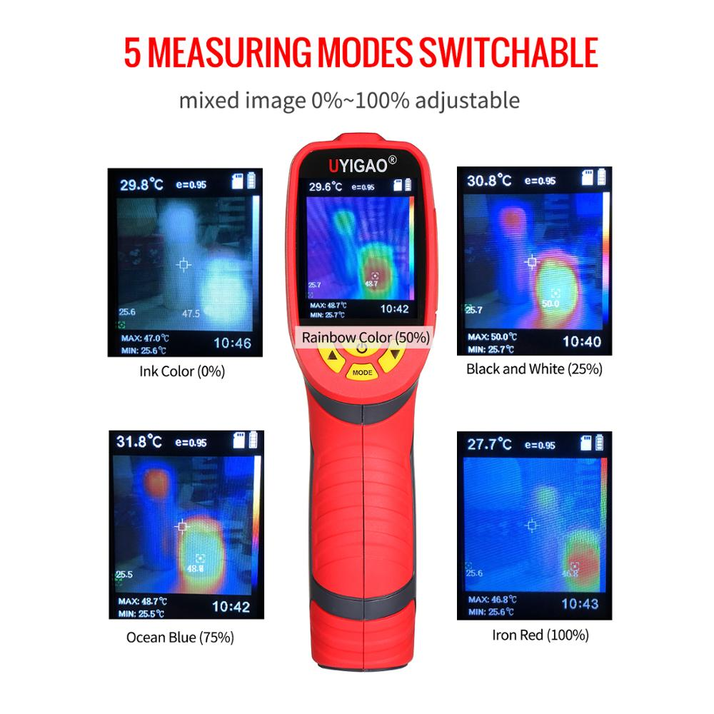 Digital Mini Infrared Thermal Camera Made With ABS Material For Measuring Tools 5