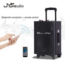 Portable Bluetooth Trolley Speaker Rechargable High Powered Bluetooth Speaker Compatible Indoor and Outdoor(China)