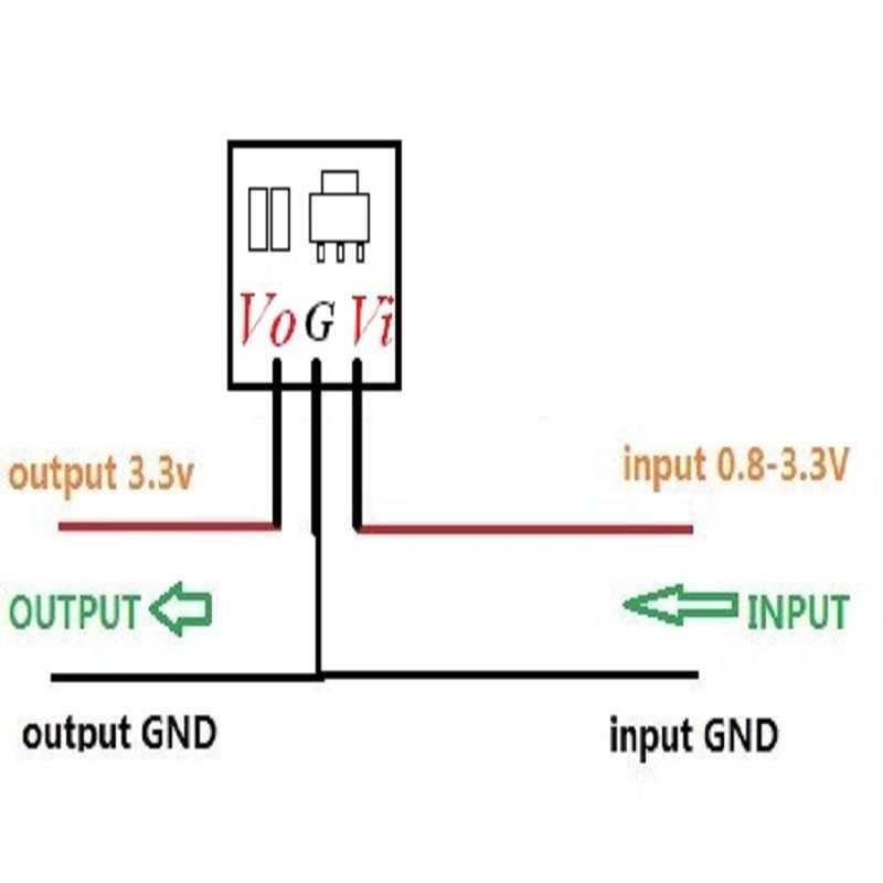 8 pièces mini DC DC 0.8-3.3V à 3.3V booster le Module de convertisseur de tension