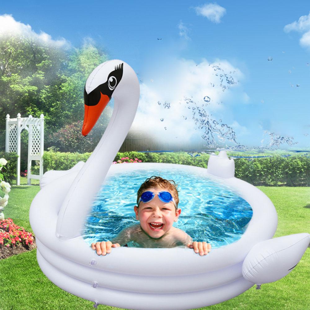 swan inflavel anel de natacao do bebe 01