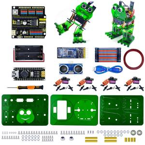 Image 2 - NEW! Keyestudio DIY 4 DOF Robot Kit  Frog Robot for Arduino Nano  Graphical Programming/Support IOS &Android APP Control