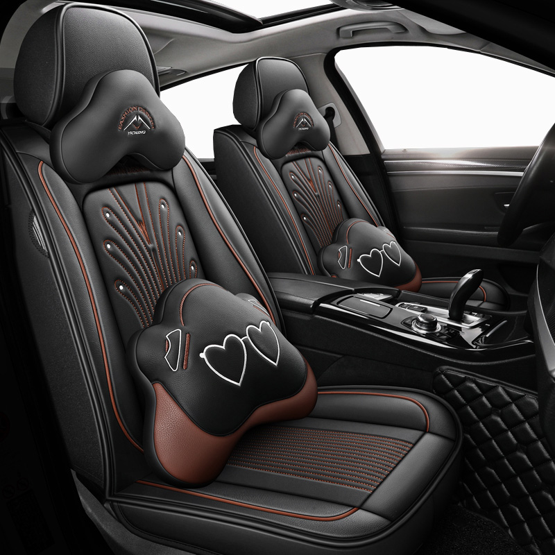 New Leather car seat covers For <font><b>suzuki</b></font> baleno <font><b>celerio</b></font> liana ignis grand vitara swift 2008 wagon <font><b>accessories</b></font> seat covers for car image