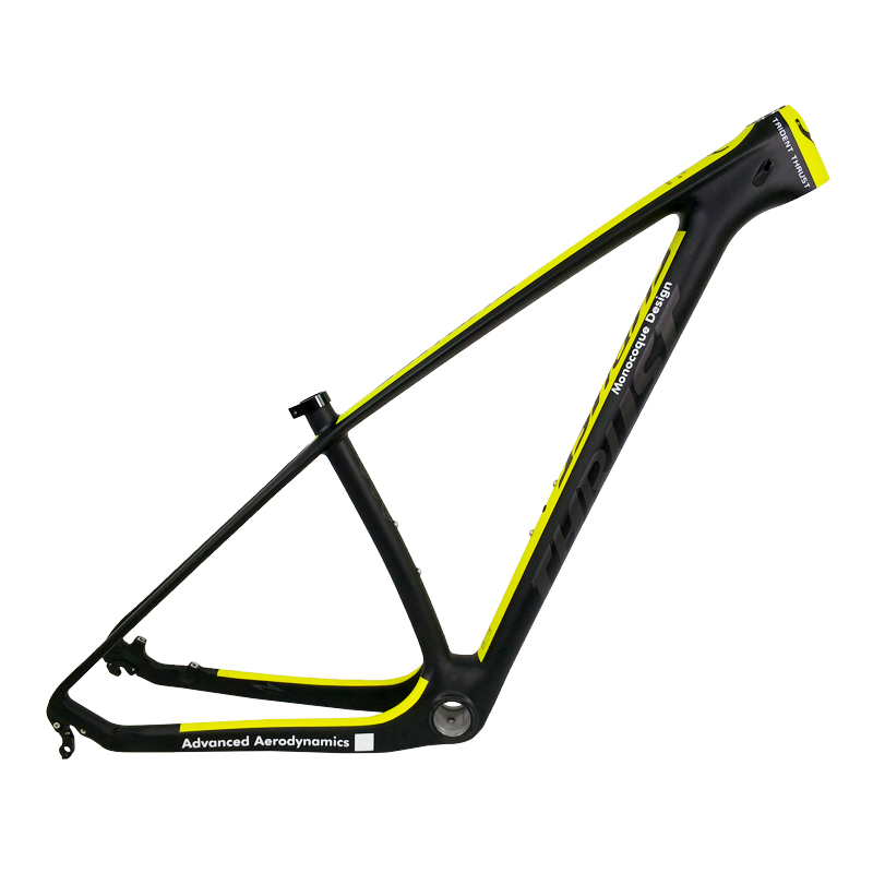 Mountain Bicycle Carbon Frame mtb 29er THRUST Carbon Bike Frame 29er BSA BB30 Աջակցություն Անհատականացնել Գույնը