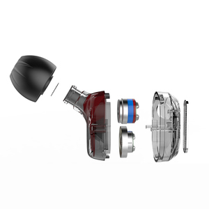Image 4 - Il più recente KZ ZSE auricolare HIFI DJ monitor auricolare dinamico doppio Driver musica sport auricolare auricolare In cuffia auricolare