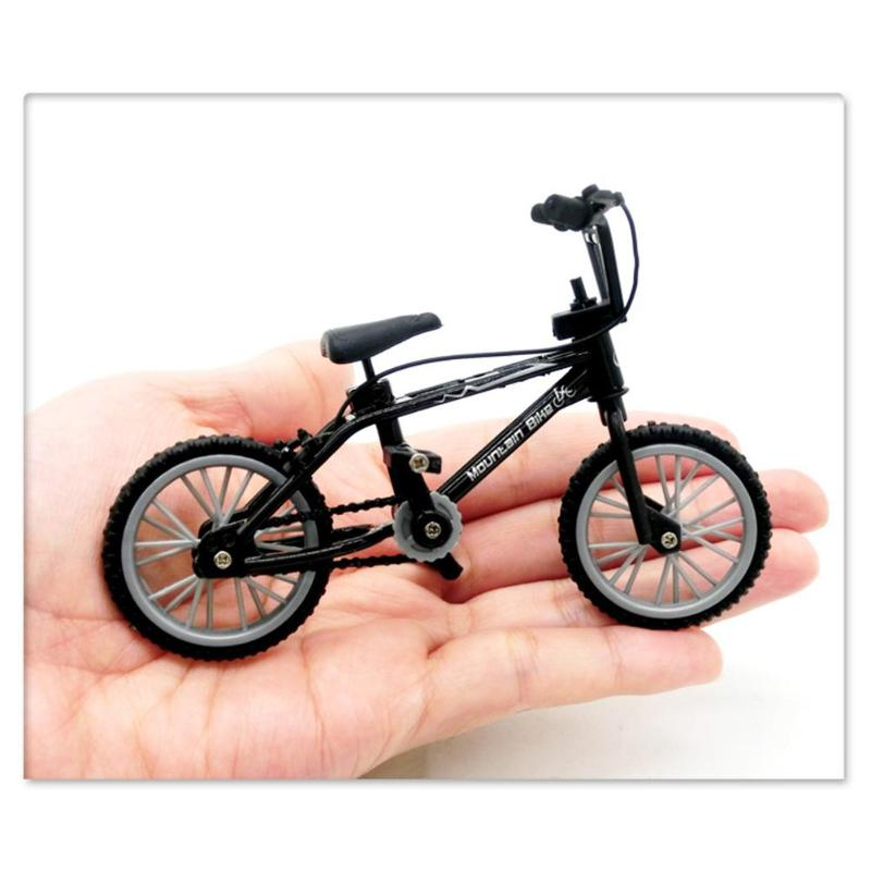 Mini Toy Finger BMX Bike Assembly Bike Model Toys for Boys Gadgets Finger bicykel For Children Boy Toy bicykel spares(China)