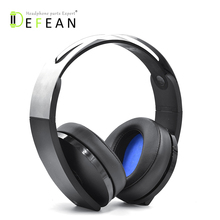 Defean DIY Thick ear pads cushion for sony ps4 PlayStation Platinum Wireless Headset CECHYA 0090 Headphone