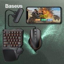 Baseus клавиатура мышь мобильный телефон игровой адаптер Геймпад контроллер конвертер мобильная игра передача станция для iOS и Android