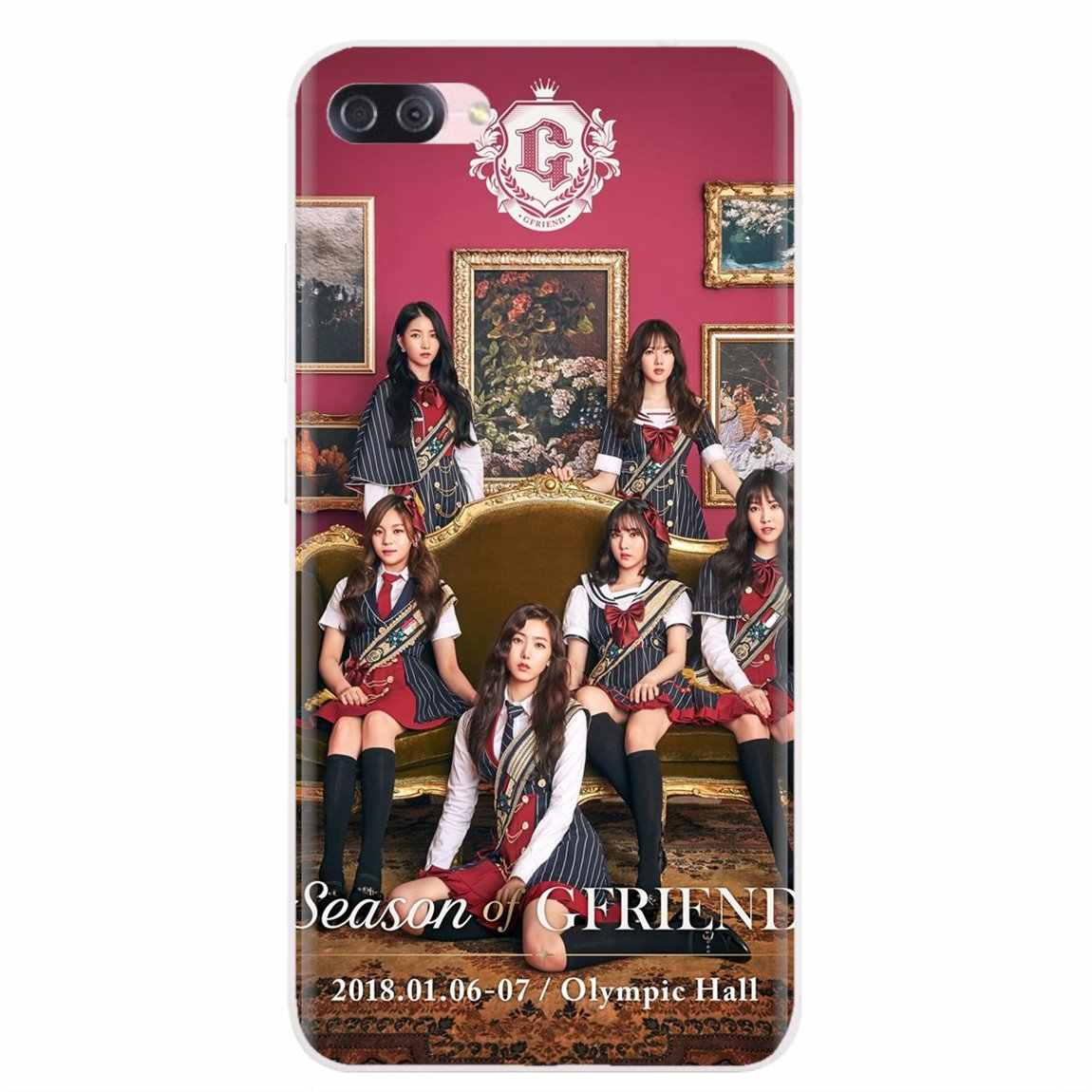 אישית סיליקון טלפון מקרה GFriend Kpop עבור Samsung Galaxy הערה 2 3 4 5 8 9 S2 S3 S4 S5 מיני S6 S7 קצה S8 S9 בתוספת
