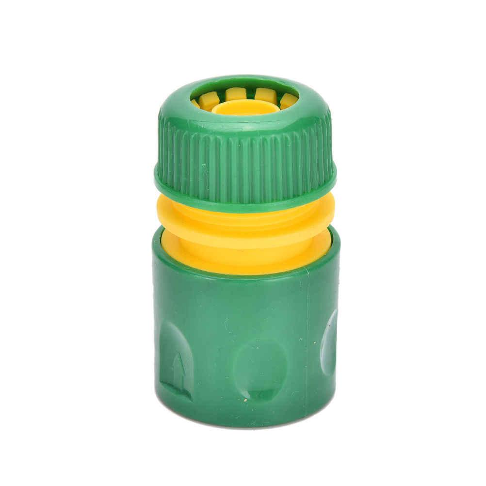 "Durable 34mm 1/2 ""conjunto de accesorios de tubería de manguera adaptador de conector de agua amarillo rápido jardín grifo conector de tubería de agua"
