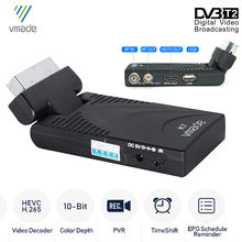 2020 novo DVB-T2 dvb-t tv receptor hd 1080p sintonizador de tv digital receptor dvb t2 h.265/hevc terrestre wi-fi decodificador usb conjunto caixa superior,Suporte para controle remoto móvel Youtube Meecast