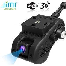 JIMI JC200 3G GPS трекер Двойной объектив тире Камера прямые трансляции видеокамера автомобиля Камера с 1080P WI FI SOS с дистанционным управлением с помощью приложения для телефона из поликарбоната и