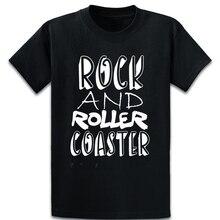 Cool Rock y Montaña Rusa divertida camiseta primavera Natural S-4XL Vintage gráfico Camiseta básica de carácter