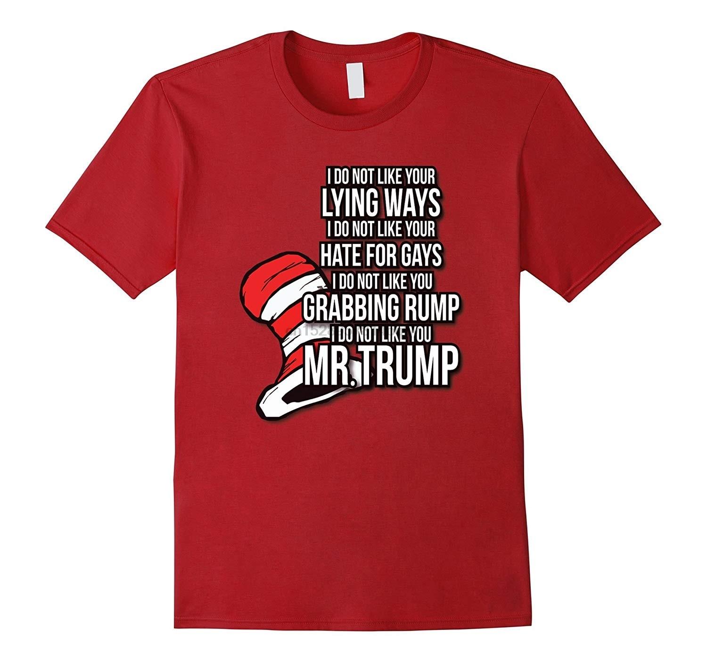 Men t shirt Dr Suesss Anti Trump T-Shirt-RT Women tshirts